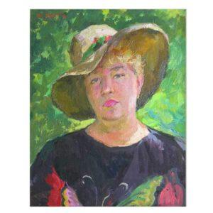 Портрет жены художника в Андреевке